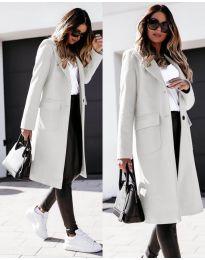 Παλτό - κώδ. 3435 - λευκό