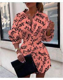 Φόρεμα - κώδ. 748 - πούδρα
