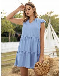 Φόρεμα - κώδ. 696 - γαλάζιο