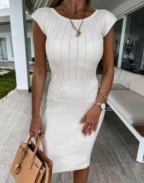 Φόρεμα - κώδ. 4513 - λευκό