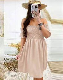 Φόρεμα - κώδ. 1409 - μπεζ