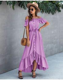 Φόρεμα - κώδ. 564 - μωβ