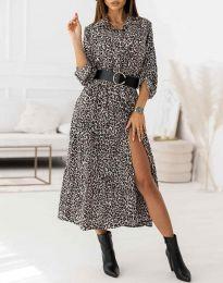 Φόρεμα - κώδ. 3853 - πολύχρωμο