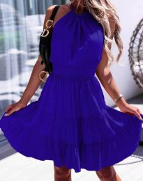 Φόρεμα - κώδ. 9949 - σκούρο μπλε