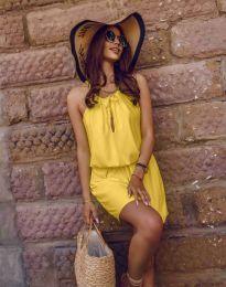 Φόρεμα - κώδ. 8399 - κίτρινο