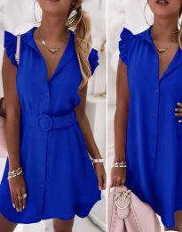 Φόρεμα - κώδ. 7411 - μπλε