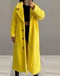 Παλτό - κώδ. 0465 - 5 - κίτρινο