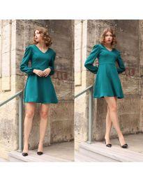 Φόρεμα - κώδ. 1478 - 3 - τυρκουάζ