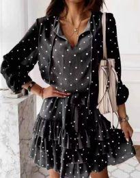 Φόρεμα - κώδ. 7113 - μαύρο