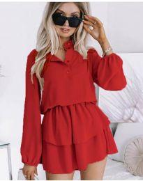 Φόρεμα - κώδ. 4093 - κόκκινο