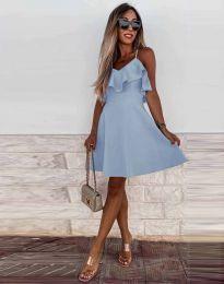 Φόρεμα - κώδ. 2739 - γαλάζιο