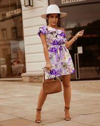 Φόρεμα - κώδ. 2503 - πολύχρωμο