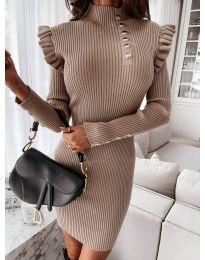 Φόρεμα - κώδ. 0763 - καπουτσίνο