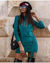 Φόρεμα - κώδ. 9545 - τυρκουάζ