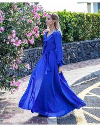 Φόρεμα - κώδ. 8477 - σκούρο μπλε