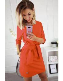 Φόρεμα - κώδ. 594 - πορτοκαλί
