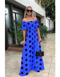 Φόρεμα - κώδ. 1140 - μπλε