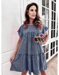 Φόρεμα - κώδ. 6111 - σκούρο μπλε