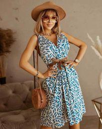 Φόρεμα - κώδ. 5488 - 5 - πολύχρωμο