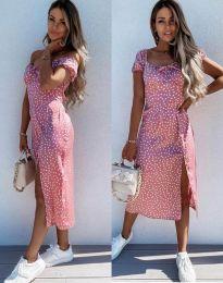 Φόρεμα - κώδ. 2127 - ροζ