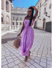 Φόρεμα - κώδ. 1230 - μωβ