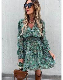 Φόρεμα - κώδ. 7712 - 3 - πολύχρωμο