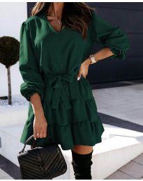 Φόρεμα - κώδ. 8272 - χακί