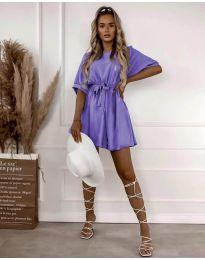 Φόρεμα - κώδ. 13131 - μωβ