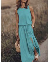 Φόρεμα - κώδ. 640 - τυρκουάζ
