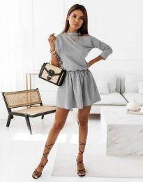 Φόρεμα - κώδ. 1534 - γκρι