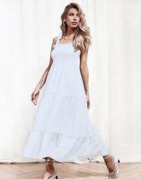 Φόρεμα - κώδ. 1729 - λευκό
