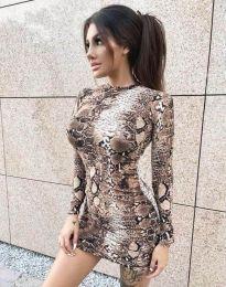 Φόρεμα - κώδ. 2452 - πολύχρωμο