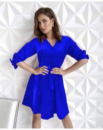Φόρεμα - κώδ. 9028 - μπλε