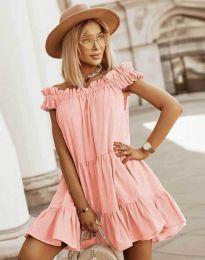 Φόρεμα - κώδ. 6969 - ροδακινί