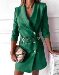 Φόρεμα - κώδ. 9257 - πράσινο