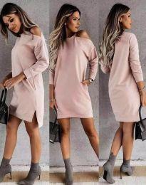 Φόρεμα - κώδ. 8858 - ροζ