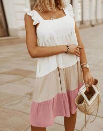 Φόρεμα - κώδ. 2810 - πολύχρωμο