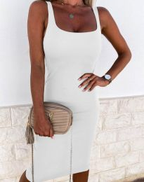 Φόρεμα - κώδ. 8899 - λευκό