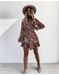 Φόρεμα - κώδ. 248 - 4 - πολύχρωμο