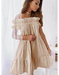 Φόρεμα - κώδ. 0299 - μπεζ