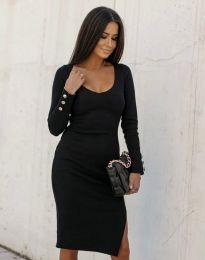 Φόρεμα - κώδ. 12106 - μαύρο