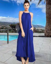 Φόρεμα - κώδ. 6999 - σκούρο μπλε