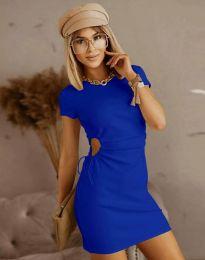 Φόρεμα - κώδ. 8556 - σκούρο μπλε