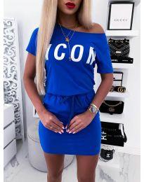 Φόρεμα - κώδ. 9905 - μπλε