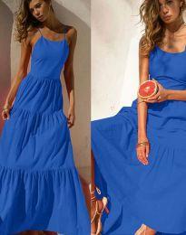 Φόρεμα - κώδ. 2991 - σκούρο μπλε