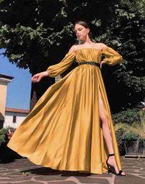 Φόρεμα - κώδ. 1879 - μουσταρδί