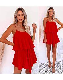 Φόρεμα-κωδ.721-κόκκινο