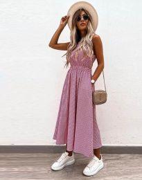 Φόρεμα - κώδ. 2687 - ροζ