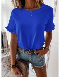 Κοντομάνικο μπλουζάκι - κώδ. 068 - μπλε