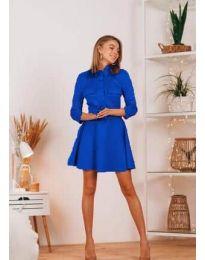 Φόρεμα - κώδ. 6619 - μπλε